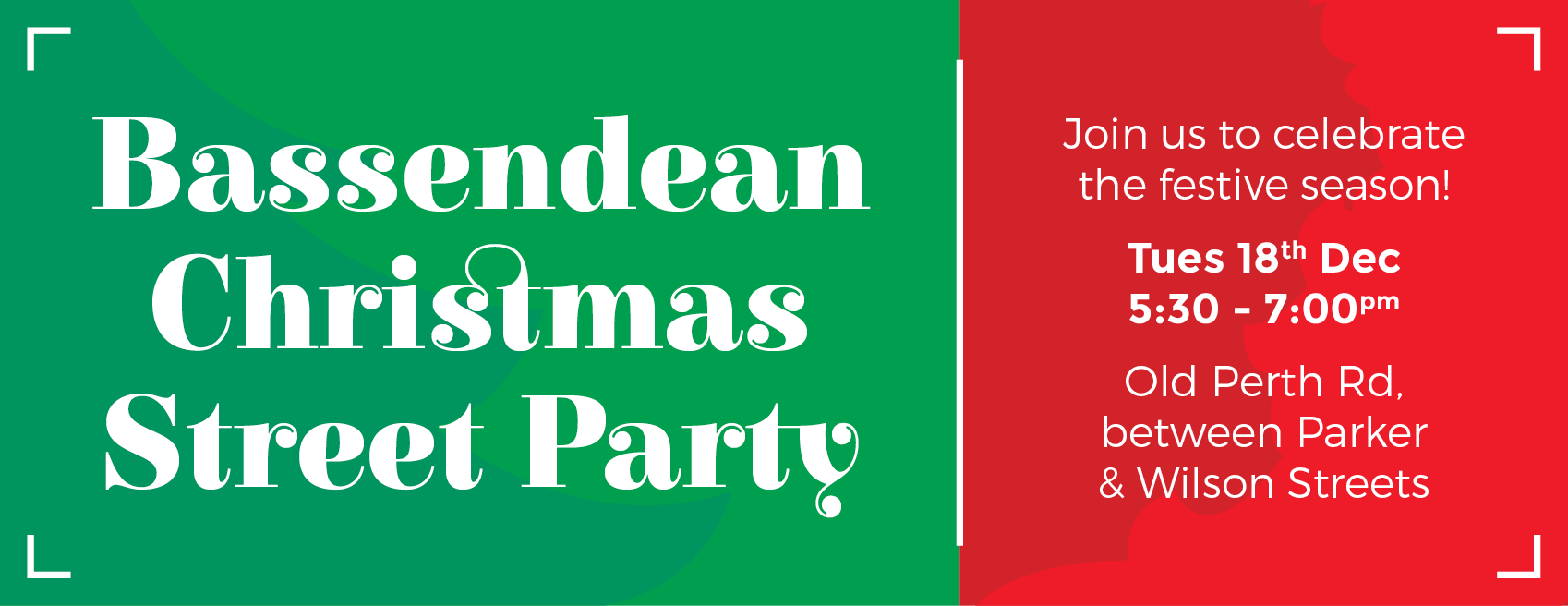 Bassendean Christmas Street Party