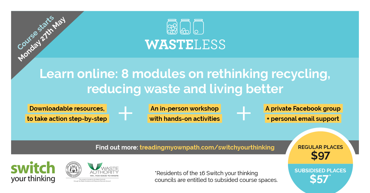 wasteless online course flyer