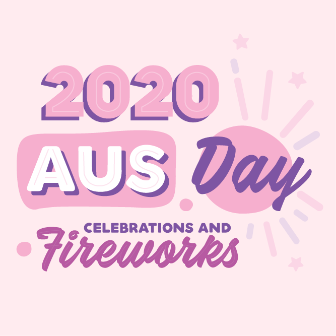 Australia Day Celebrations and Fireworks