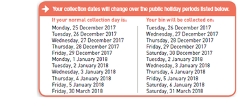 Festive Season Waste Collection Services