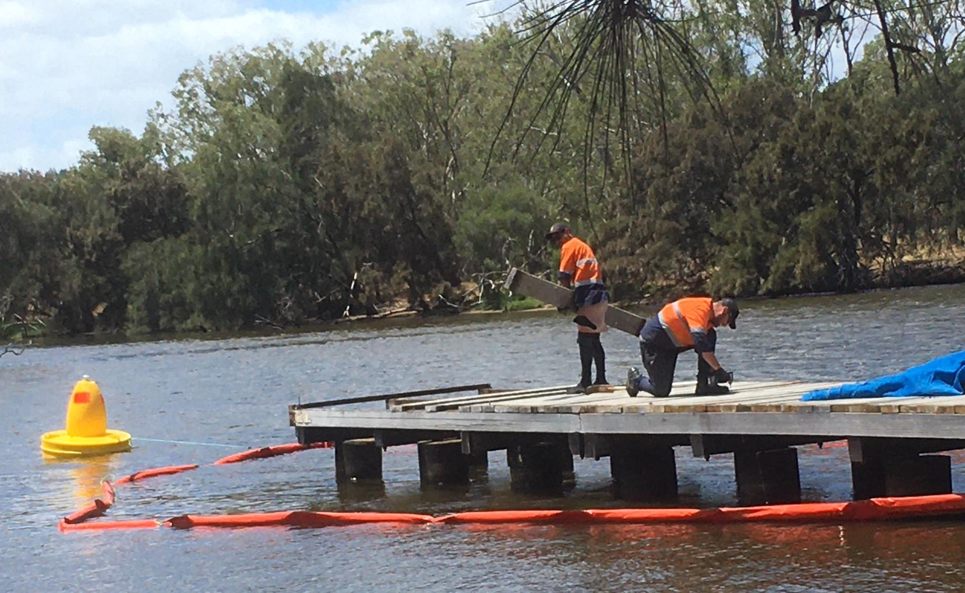 Safety Comes First – Point Reserve Jetties