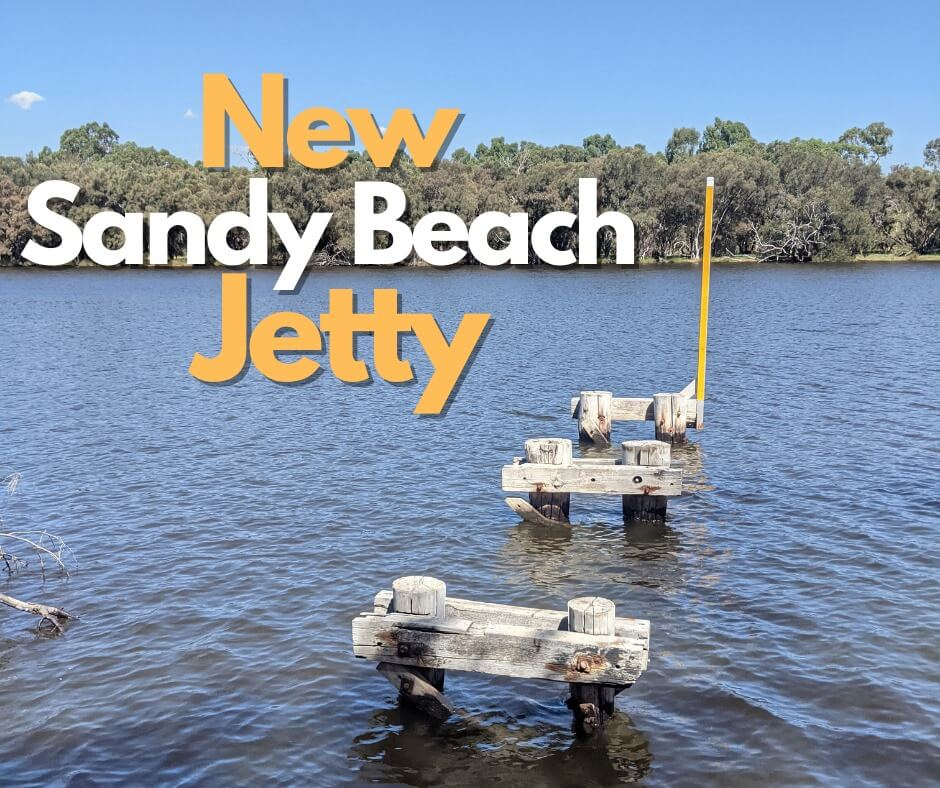 New Jetty for Sandy Beach Reserve