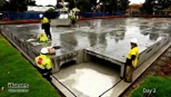 Villiers Street West Drainage Cell Installation