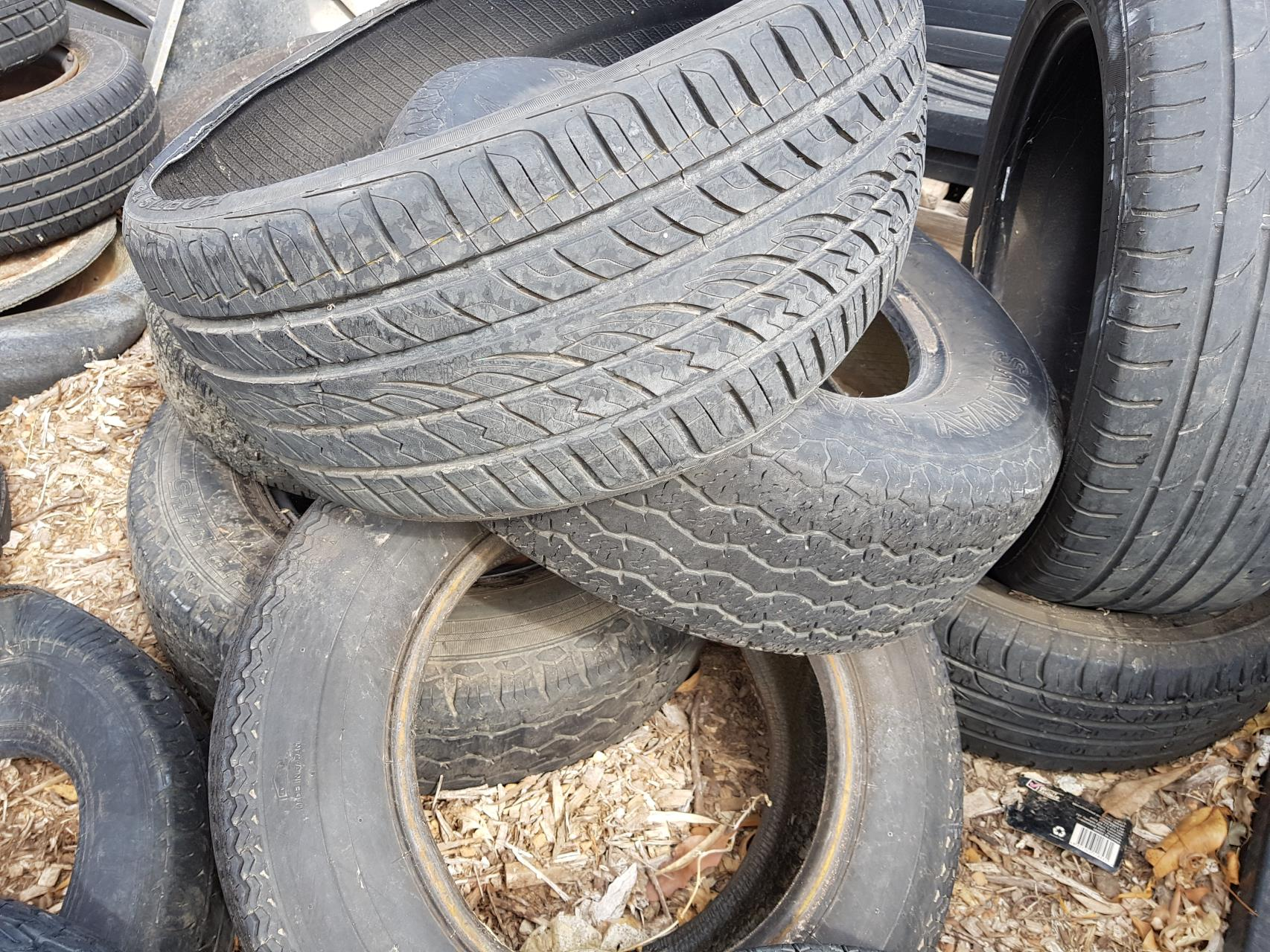 tyres for recycling